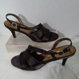 Mootsies Tootsies womens shoes 11 Brown sandal